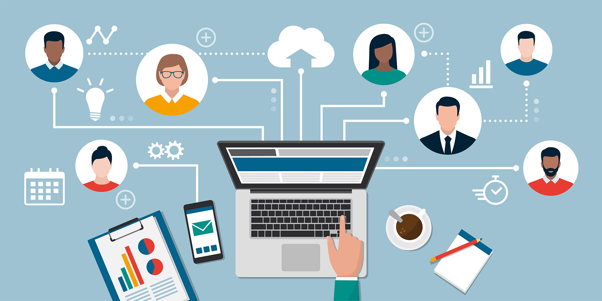 Teleworking and online freelancing