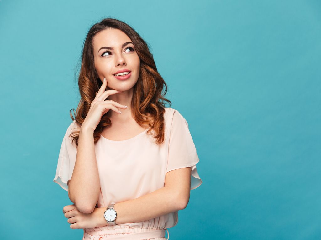Woman thinking about Common Misspelled Words